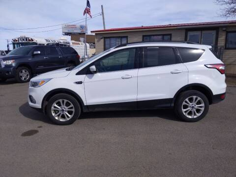 2018 Ford Escape for sale at Revolution Auto Group in Idaho Falls ID