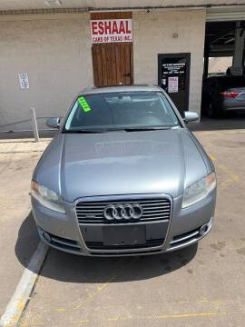 2006 Audi A4 for sale at Eshaal Cars of Texas in Houston TX