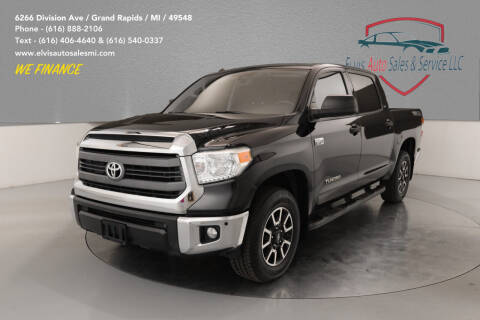 2015 Toyota Tundra for sale at Elvis Auto Sales LLC in Grand Rapids MI