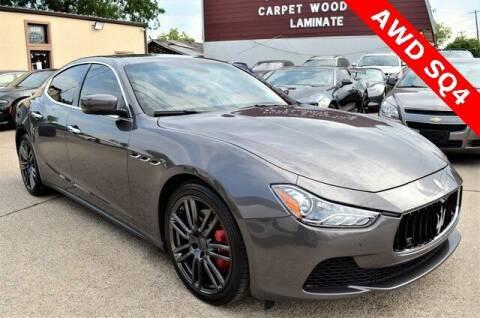 2015 Maserati Ghibli for sale at LAKESIDE MOTORS, INC. in Sachse TX