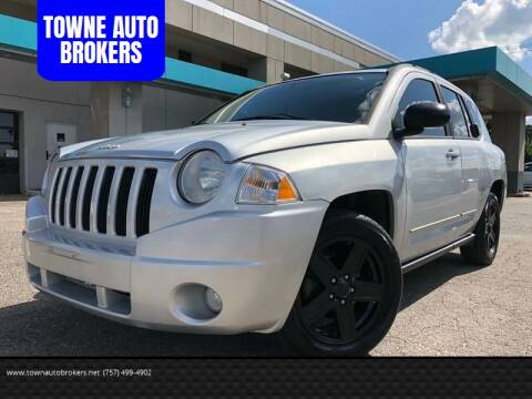 2010 Jeep Compass for sale at TOWNE AUTO BROKERS in Virginia Beach VA