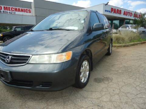 2004 Honda Odyssey for sale at Pars Auto Sales Inc in Stone Mountain GA