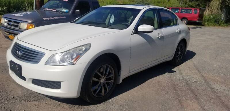2009 Infiniti G37 Sedan for sale at DDK Motors LLC in Rock Hill NY