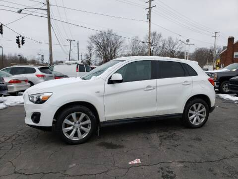 2013 Mitsubishi Outlander Sport for sale at COLONIAL AUTO SALES in North Lima OH