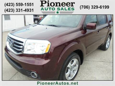 2015 Honda Pilot for sale at PIONEER AUTO SALES LLC in Cleveland TN