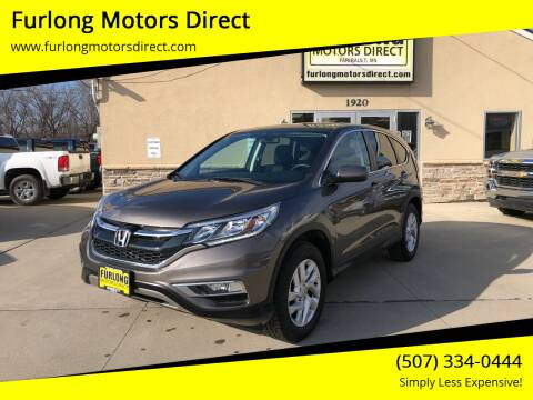2015 Honda CR-V for sale at Furlong Motors Direct in Faribault MN