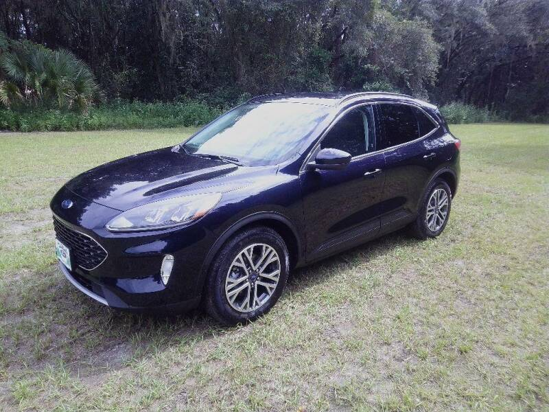 2021 Ford Escape for sale at TIMBERLAND FORD in Perry FL