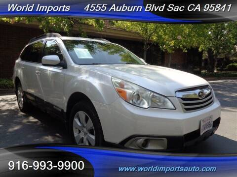 2011 Subaru Outback for sale at World Imports in Sacramento CA