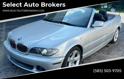 2004 BMW 3 Series for sale at Select Auto Brokers in Webster NY