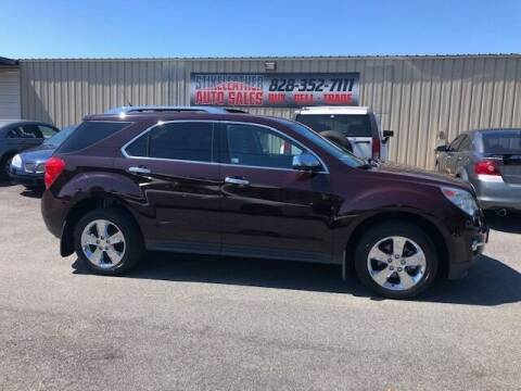 2011 Chevrolet Equinox for sale at Stikeleather Auto Sales in Taylorsville NC