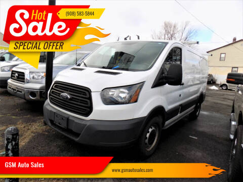 2015 Ford Transit Cargo for sale at GSM Auto Sales in Linden NJ