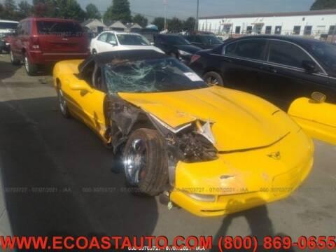 2004 Chevrolet Corvette for sale at East Coast Auto Source Inc. in Bedford VA