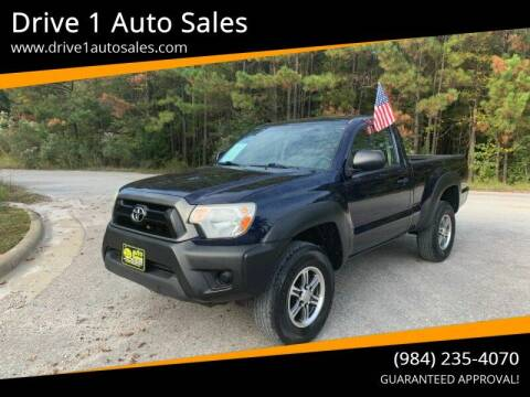 2012 Toyota Tacoma for sale at Drive 1 Auto Sales in Wake Forest NC