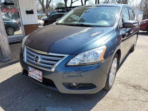 2013 Nissan Sentra for sale at New Wheels in Glendale Heights IL