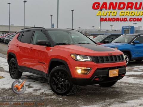 2017 Jeep Compass for sale at Gandrud Dodge in Green Bay WI