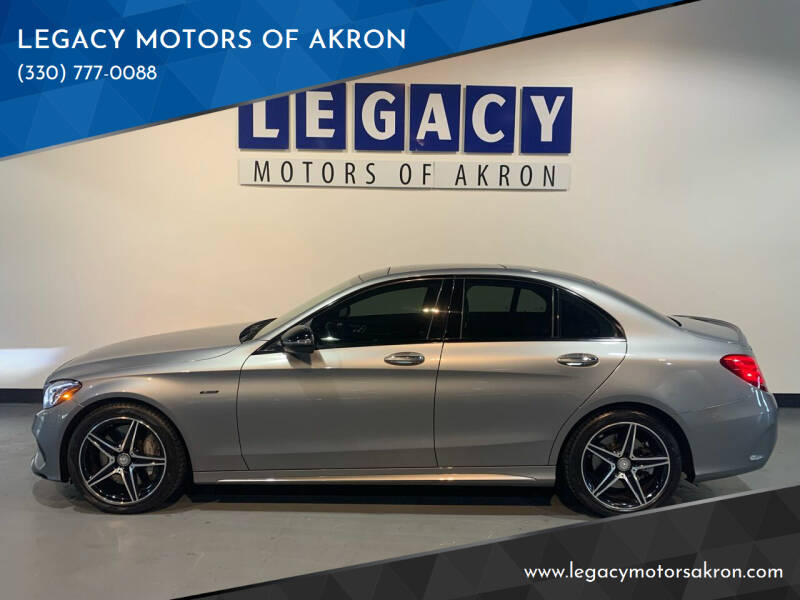 2016 Mercedes-Benz C-Class for sale at LEGACY MOTORS OF AKRON in Akron OH