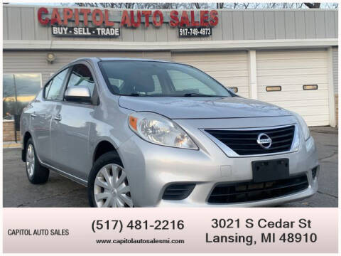 2012 Nissan Versa for sale at Capitol Auto Sales in Lansing MI