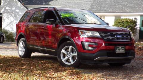 2016 Ford Explorer for sale at The Auto Barn in Berwick ME