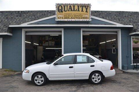 2004 Nissan Sentra for sale at Quality Pre-Owned Automotive in Cuba MO