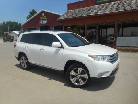 2012 Toyota Highlander for sale at Boyett Sales & Service in Holton KS