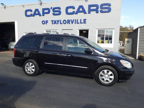 2007 Hyundai Entourage for sale at Caps Cars Of Taylorville in Taylorville IL