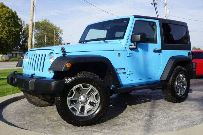 2018 Jeep Wrangler JK for sale at Platinum Motors LLC in Heath OH