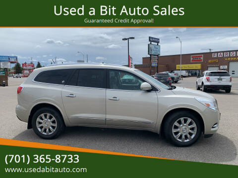 2014 Buick Enclave for sale at Used a Bit Auto Sales in Fargo ND