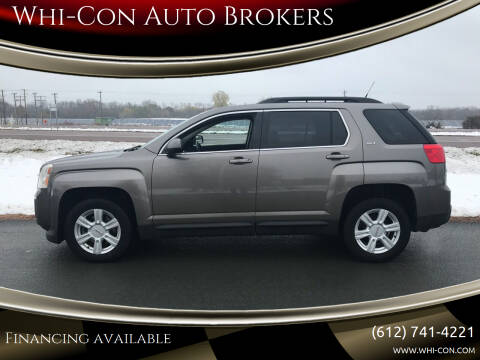 2010 GMC Terrain for sale at Whi-Con Auto Brokers in Shakopee MN