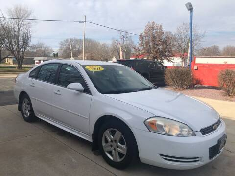 2011 Chevrolet Impala for sale at TNT Motor Sales in Oregon IL