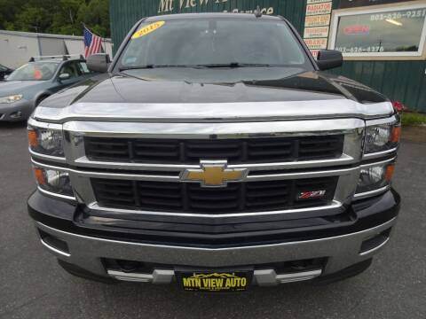 2015 Chevrolet Silverado 1500 for sale at MOUNTAIN VIEW AUTO in Lyndonville VT