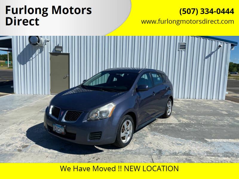 2009 Pontiac Vibe for sale at Furlong Motors Direct in Faribault MN