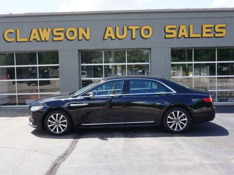 2017 Lincoln Continental for sale at Clawson Auto Sales in Clawson MI