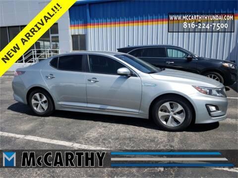 2015 Kia Optima Hybrid for sale at Mr. KC Cars - McCarthy Hyundai in Blue Springs MO