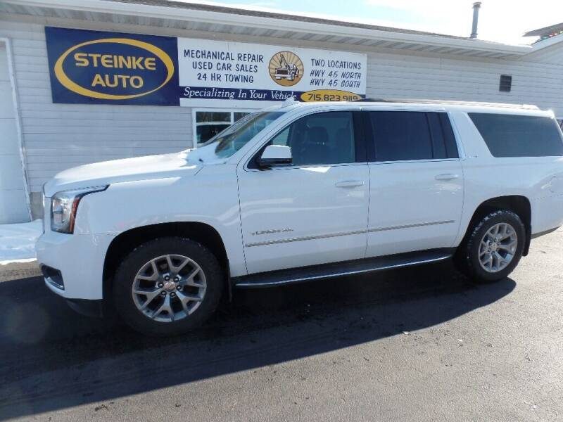 2015 GMC Yukon XL for sale at STEINKE AUTO INC. in Clintonville WI