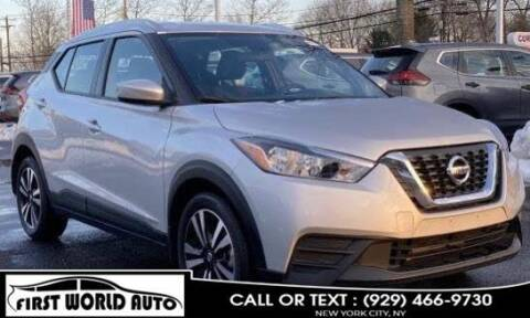 2019 Nissan Kicks for sale at First World Auto in Jamaica NY