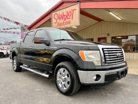2011 Ford F-150 for sale at Sandlot Autos in Tyler TX