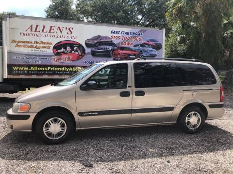 2004 Chevrolet Venture for sale at Allen's Friendly Auto Sales in Sanford FL