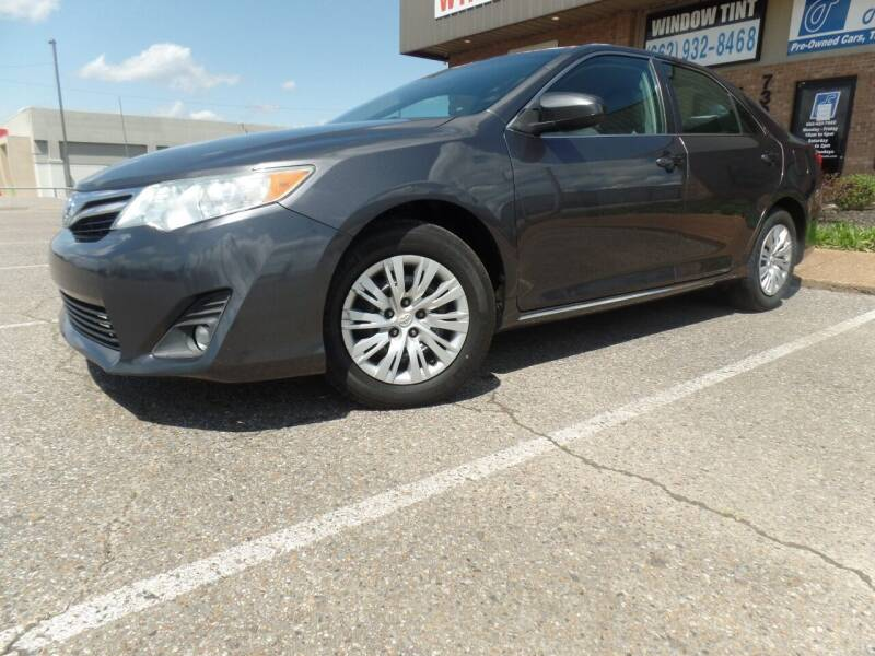 2013 Toyota Camry for sale at Flywheel Motors, llc. in Olive Branch MS