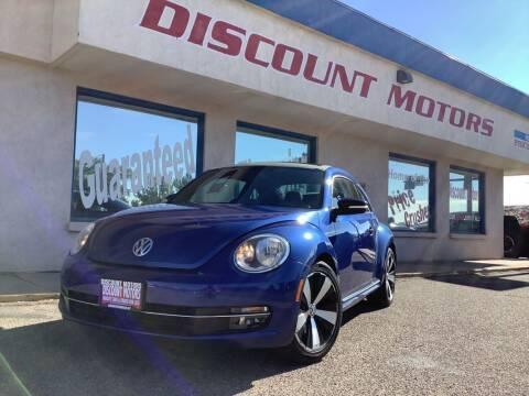 2013 Volkswagen Beetle for sale at Discount Motors in Pueblo CO