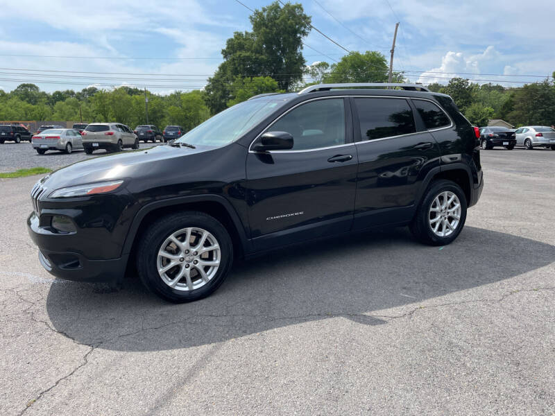 2014 Jeep Cherokee for sale at Adairsville Auto Mart in Plainville GA