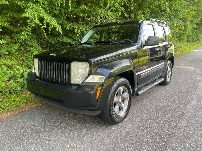 2008 Jeep Liberty for sale at Lenoir Auto in Lenoir NC