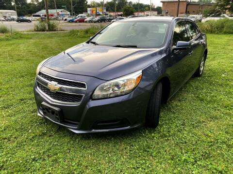 2013 Chevrolet Malibu for sale at Cleveland Avenue Autoworks in Columbus OH