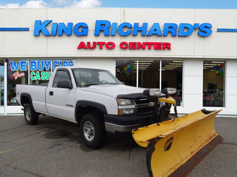 2006 Chevrolet Silverado 2500HD for sale at KING RICHARDS AUTO CENTER in East Providence RI
