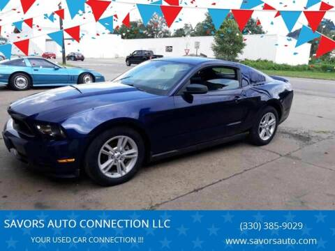 2010 Ford Mustang for sale at SAVORS AUTO CONNECTION LLC in East Liverpool OH