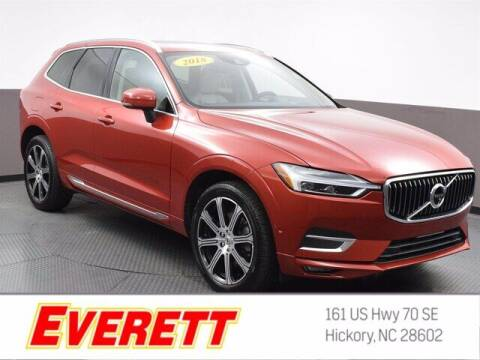 2018 Volvo XC60 for sale at Everett Chevrolet Buick GMC in Hickory NC