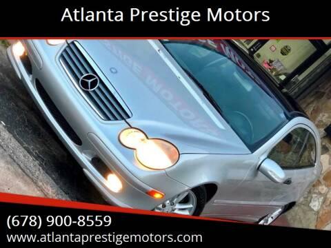2002 Mercedes-Benz C-Class for sale at Atlanta Prestige Motors in Decatur GA