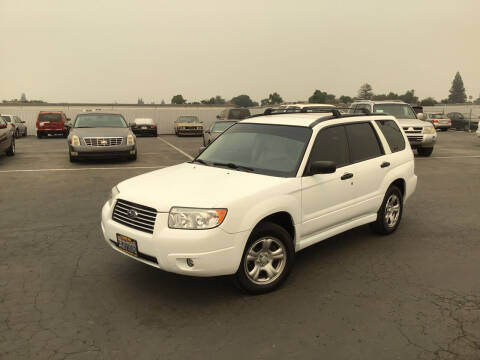 2007 Subaru Forester for sale at My Three Sons Auto Sales in Sacramento CA