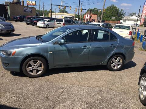 2009 Mitsubishi Lancer for sale at Payless Auto Sales LLC in Cleveland OH