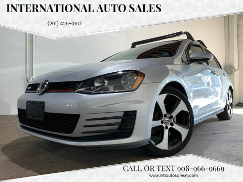 2017 Volkswagen Golf GTI for sale at International Auto Sales in Hasbrouck Heights NJ