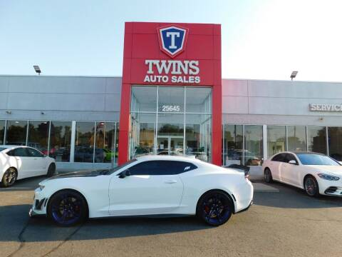 2017 Chevrolet Camaro for sale at Twins Auto Sales Inc Redford 1 in Redford MI